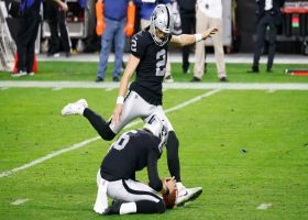 Daniel Carlson drills 38-yard FG to give Raiders the lead in OT