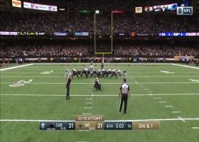 Wil Lutz makes game-winning 33-yard field goal