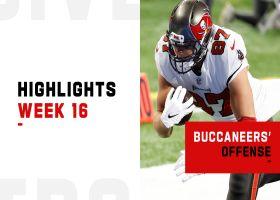 Every Buccaneers TD vs. Lions | Week 16