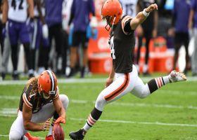 Pelissero breaks down Bengals, Browns kicking carousels ahead of 'TNF'