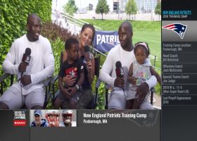 New England Patriots safety Devin McCourty and Patriots cornerback Jason McCourty discuss what it means to play together