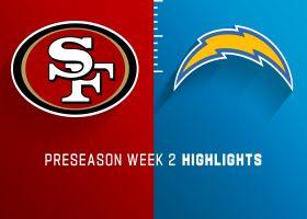 49ers vs. Chargers highlights | Preseason Week 2