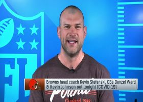 Joe Thomas joins 'NFL GameDay Morning' to preview Browns-Steelers