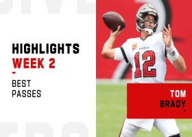 Tom Brady's best passes from first win with Bucs | Week 2