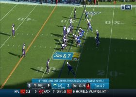 Rivers lofts it up to Allen for 19 yards