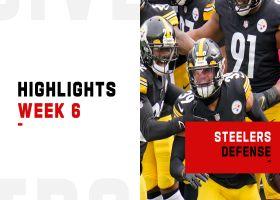 Steelers' best defensive plays against the Browns | Week 6