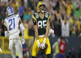 Can't-Miss Play: Most accurate pass of '21? Rodgers' 22-yard TD laser may be it