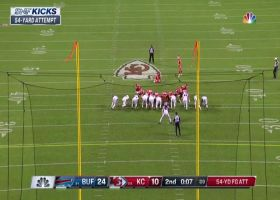 Harrison Butker drills 54-yard FG to end half