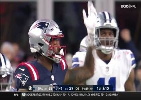 Romo in awe of Mac Jones' zip pass to diving Meyers