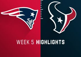 Patriots vs. Texans highlights | Week 5