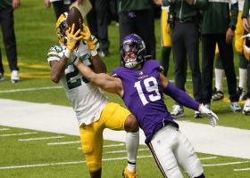 Jaire Alexander nabs end-of-half INT from Cousins
