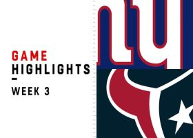 Giants vs. Texans highlights | Week 3