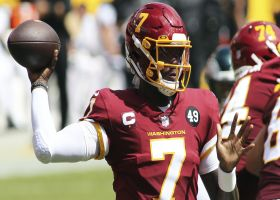 Haskins gets Washington on board with wide-open TD to Logan Thomas