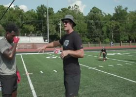 Greg Olsen coaches up players at Tight End University