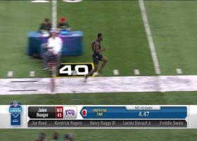 Jalen Reagor runs official 4.47 second 40-yard dash