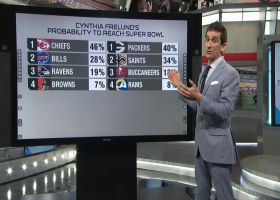 Siciliano explains Frelund's most likely Super Bowl matchups