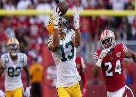 Aaron Rodgers couldn't be more accurate on 42-yard dime to Allen Lazard