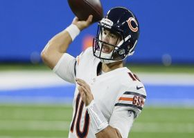 Mitch Trubisky darts strike over middle to Allen Robinson for 22 yards