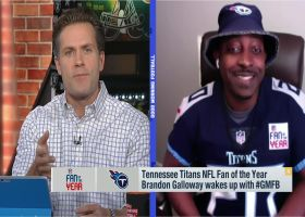 Titans Fan of the Year Brandon Galloway explains how Titans played role in him mentoring at-risk youth