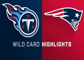 Titans vs. Patriots highlights | AFC Wild Card