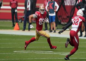 Garafolo: Niners 'cautiously optimistic' Kittle will play Week 2 vs. Jets