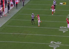 Robby Anderson makes impressive twisting grab for 22 yards