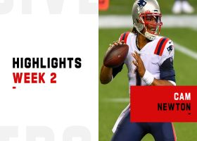 Highlights from Cam Newton's 397-yard performance | Week 2