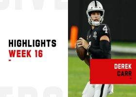 Derek Carr's best plays against the Dolphins | Week 16