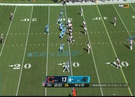 Eddie Jackson pops Mike Davis to force another turnover for Bears