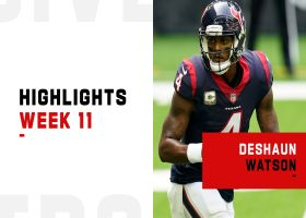 Deshaun Watson's best throws from 3-TD game | Week 11