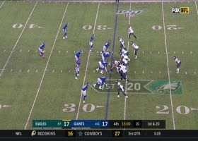 Carson Wentz unloads 41-yard dime to diving Deontay Burnett
