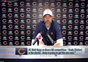Matt Nagy says Andy Dalton will get Bears' QB1 reps entering training camp