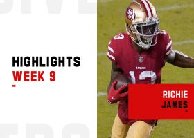 Every catch by Richie James from 184-yard game | Week 9
