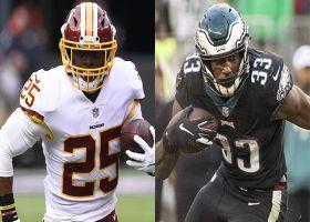Running back projections for Washington Redskins vs. Philadelphia Eagles   NFL Fantasy Live