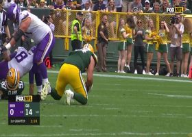 Kenny Clark makes fantastic strip-sack on Kirk Cousins