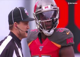 Peyton Barber coughs up costly fumble