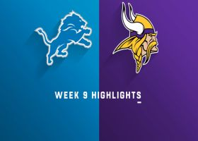 Lions vs. Vikings highlights | Week 9