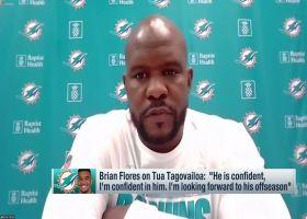 Brian Flores on Tua Tagovailoa: 'I'm confident in him'