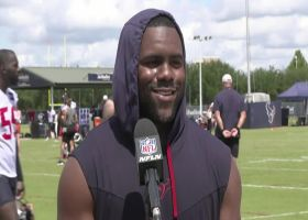 Mark Ingram shares what David Culley brings to the Texans