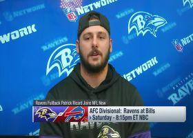 Patrick Ricard: 'It might be an advantage' for Ravens to play in snow vs. Bills