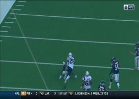 James White turns screen pass into quick 34-yard gain