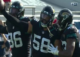 Jags jump on Davis' fumble to set offense up with great field position