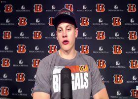 Joe Burrow reveals the advice he got from Peyton Manning