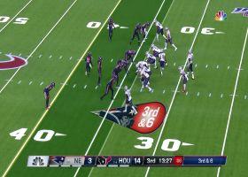 Bradley Roby zooms into backfield to sack Tom Brady