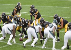Kinkhabwala: Big Ben audibled to a completely new play to set up one of Claypool's four TDs
