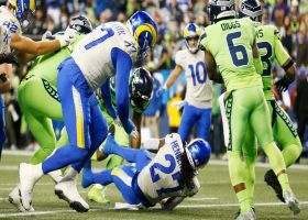 Darrell Henderson slices through Seahawks' defense for quick TD