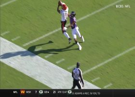 Burrow goes downtown to Chase for 27-yard gain