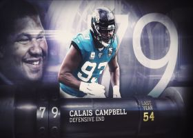 'Top 100 Players of 2020': Calais Campbell | No. 79