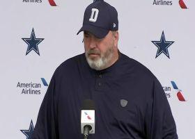 McCarthy: Prescott won't throw 'for a few days,' will still participate in drills