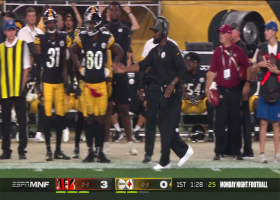 Mike Tomlin's challenge of offensive PI penalty is unsuccessful